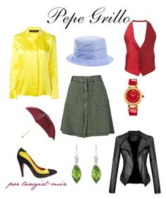 """Pepe Grillo"" by lawgirl-miz on Polyvore featuring Prada, Gemvara, Alexander McQueen, Dsquared2, Fat Face, Alexandre Vauthier, Sesame Street and Versace"