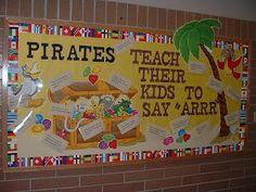 Bulletin Board Ideas - Pirate theme