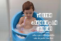 Vídeo blog: rotina escovação e tipo de pasta (com ou sem flúor) para bebês