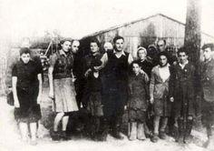 Klooga, Estonia, Survivors from the Camp.