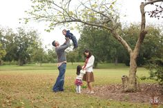 unique family portrait poses - #fall #winter #autumn #family photography -  raleigh north carolina family photographers