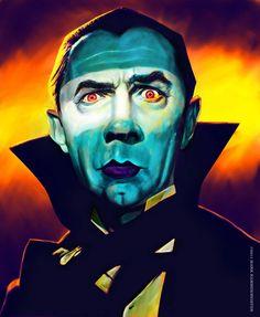 Bela Lugosi as Dracula by Mark Hammermeister