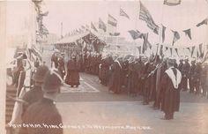 POSTCARD  DORSET   WEYMOUTH   Visit of  GEORGE  V  1912     RP    eBay