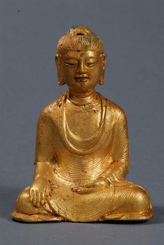 Gold Akshobhya, Yunnan, Dali Kingdom, H: cm. Buddhist Art, Dali, Pinterest Board, Ancient Art, Buddhism, Namaste, Chen, The Darkest, Sculptures