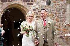 Confetti at Sopley Church Wedding