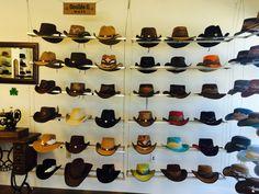 Double G hats at The Hat Hangar! #AmericanHatMakers #1800NiceHat #smallbusiness #marketing #success #leatherhats #wholesale #hatmanufacturers #branding