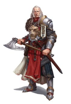 Male Human Aristocrat Fighter - General Pythareus - Pathfinder PFRPG DND D&D 3.5 5th ed d20 fantasy