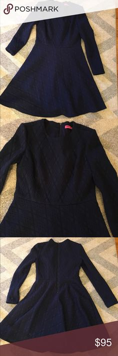 "Betsey Johnson Navy Blue Dress Navy blue long sleeve dress 36"" long 36"" bust 29"" waist Betsey Johnson Dresses Long Sleeve"