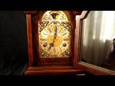 Large Warmink Dutch 8 Day Burl Wood Bracket Clock With Moon Phase For Sale on eBay. http://cgi.ebay.co.uk/ws/eBayISAPI.dll?ViewItem&item=370999505957