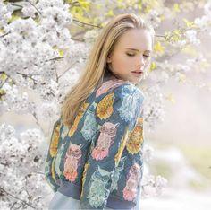 Daya   Bunda typu bomber so sovami Sewing Patterns, Kimono Top, Blouse, Handmade, Vintage, Tops, Women, Fashion, Fotografia