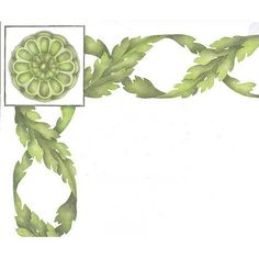 Paint a border on your ceiling or painted furniture with our Endless Acanthus Trellis Classic Border Stencil and polish off the corners with the Rosette Classic Flower Stencils. This stencil is 6 laye