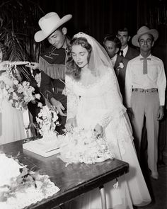 Hank Williams and Billie Jones married in the Municipal Auditorium in 1952.