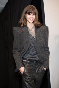 Isabel Marant Backstage A/W '14