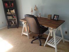 Finnvard trestle & Gerton table top --> Table/desk