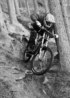 "Downhill MTB - ""Hobsons"" near Perth, Scotland"