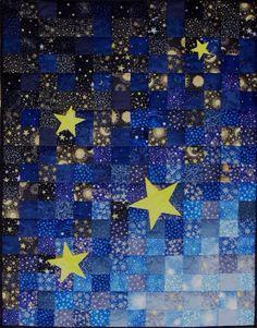 Cielo, estrellas, noche