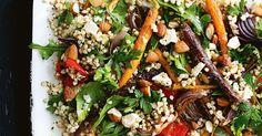 Roast vegetable and buckwheat salad