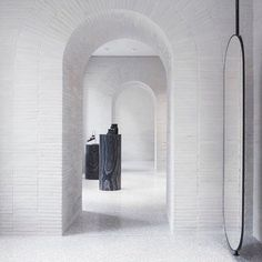 The Valentino (@maisonvalentino) flagship store in Rome, by David Chipperfield Architects (@david.chipperfield).