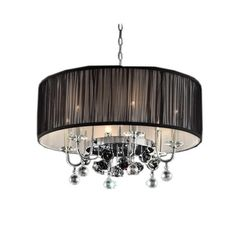 Crystal Rose Ceiling Lamp | Overstock™ Shopping - Great Deals on Chandeliers & Pendants