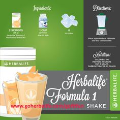 Jump start your weekend with a nutritious #HerbalifeShake! LIKE if you've had your Herbalife Shake today. #LoveMyShake