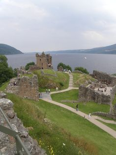 Urquhart Castle by Loch Ness Scotland.I want to go see this place one day.Please check out my website thanks. www.photopix.co.nz