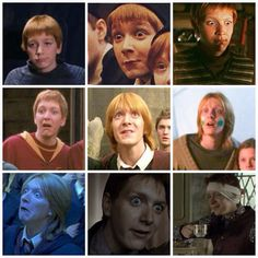 The many faces of George Weasley