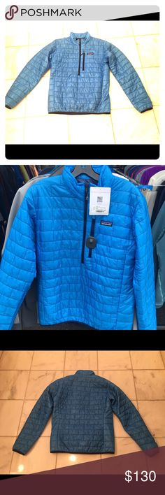 Patagonia Men S Nano Puffer Electron Blue New wTag Patagonia Men's Small S Electron Blue Nano Puff Puffer Jacket. Brand new. Never worn. New with Tags. Prima Loft  Gold insulation. Warm when Wet. Regular Fit Color closest to picture of jacket hanging off rack. Patagonia Jackets & Coats Puffers