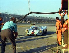 Gulf Porsche 917 at Daytona 1971