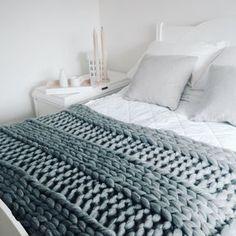 Decke stricken KIT. 40 x 60 '' Riese 40mm von WoolCoutureCompany