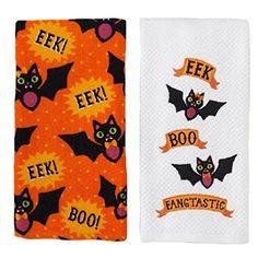 Halloween EEK, BOO, Fangtastic Bat Kitchen Towels 2 Pack Midnight Market http://www.amazon.com/dp/B00O8WJLJM/ref=cm_sw_r_pi_dp_R97Lvb0JAQG5M