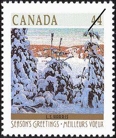 L.S. Harris, Snow II (Canada) (Christmas (1989), Winter Landscapes)