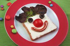 Clown-Brot Karneval Snacks, Food Humor, Creative Food, I Foods, Food Art, Kids Meals, Tacos, Good Food, Pudding