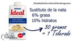 Leche Evaporada 6% grasa Nestlé Ideal {Dieta Dukan}