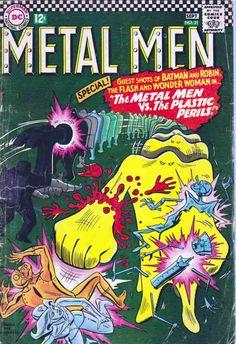 Metal Men #12 Rare Comic Books, Comic Books For Sale, Time Warner, Man Vs, American Comics, Special Guest, Book Publishing, Dc Comics, Batman