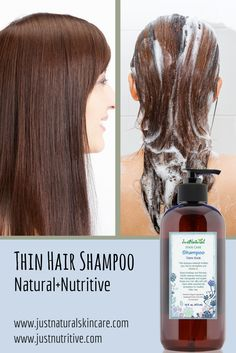 Promotes fuller, thicker hair with nutrients and vitamins that help add volume for thicker healthier hair.  Rich plant nutrients help fortify hair from root to end for thicker hair.