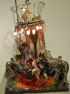 Post with 45 votes and 1782 views. Shared by Rinkaku. I present you the art of the Japanese sculptor Takayuki Takeya. Sience Fiction, Outdoor Sculpture, Polymer Clay Art, Art Model, Creature Design, Art Dolls, Sculpting, Concept Art, Sculptures