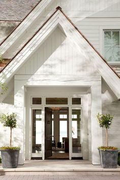 90 incredible modern farmhouse exterior design ideas (19) #ExteriorDesignColor