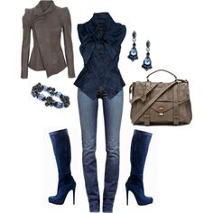 """For Early Fall"" by deborah-simmons on Polyvore"
