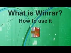 How to use winrar and how to Open, Compress, Split and Extract rar files