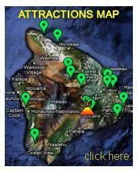 Big Island Attractions Map