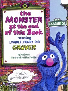 Grover reads this to my toddlers on Nook for Kids. They giggle the whole time.