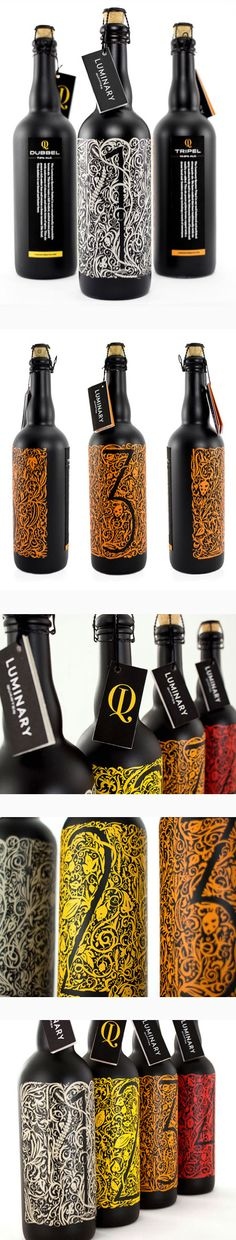 Luminary Quarter #Beer #Packaging #Design