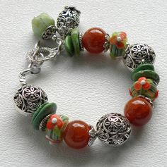 Hayden Handmade Beaded Bracelet by bdzzledbeadedjewelry on Etsy, $34.00