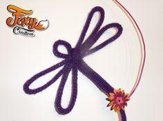 Lilou tricotin libellule
