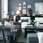 Grey Living Rooms Ideas Decorating from IKEA