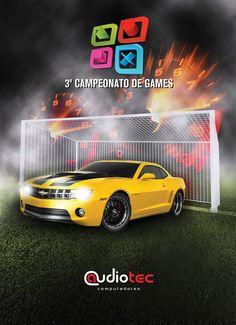 Panfleto Campeonato de Games
