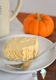 No-Bake Pumpkin Cheesecake | Briana Thomas | Bloglovin'