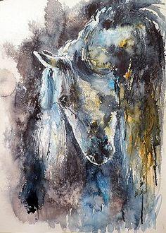 Horse by Kovacs Anna Brigitta