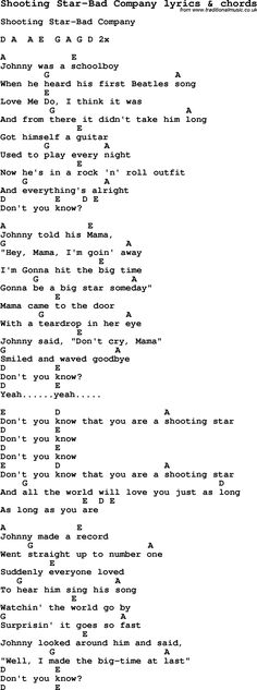 Johnny Cash Song Sunday Morning Coming Down Lyrics And Chords