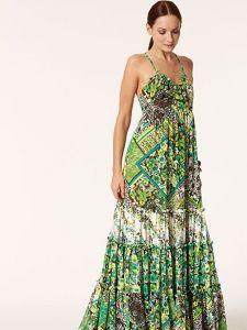 burda style: Damen - Kleider - Maxi-Kleider - Maxikleid - gekreuzte Träger